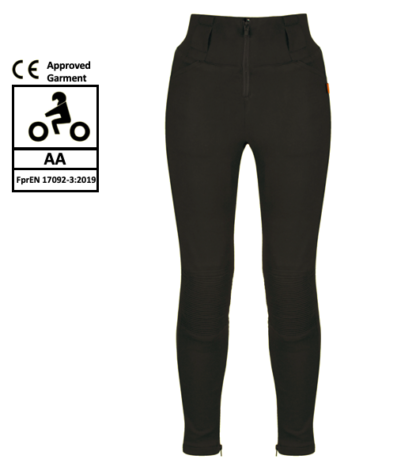 MotoGirl Zip Kevlar Leggings